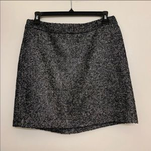 Gap Gray Tweed Mini Pencil skirt size 0